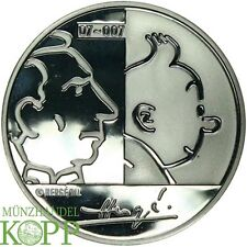 F540) Belgio 20 euro 2007 Tintin