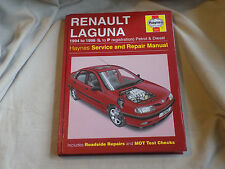 Haynes manual 3252, Renault Laguna, 1994 to 1996 L to P reg, petrol and diesel
