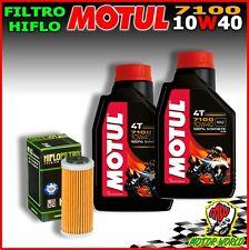 KIT TAGLIANDO OLIO MOTUL 7100 10W40 + FILTRO KTM 450 EXC-R 2008
