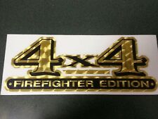 4x4 Firefighter Edition Decal, Vehicle Graphics #FD03