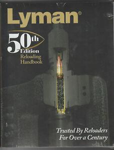 LYMAN 50TH EDITION RELOADING MANUAL BRAND NEW IN ORIGINAL SHRINK WRAP