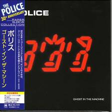 THE POLICE Ghost In The Machine CD MINI LP