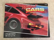 Hottest Cars Poster Book by Ben Shriver (Paperback) Fair/Good Cond!