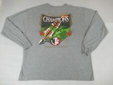 Guy Harvey Florida State Fsu 2013 Nacional Campeones -gris 2XL Camiseta - Y191