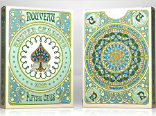 Nouveau Playing Cards - United Cardists 2016 Annual Deck from Murphy's Magic