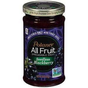 Polaner All Fruit Seedless Blackberry Spreadable Fruit