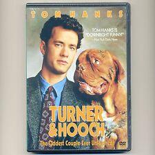 Turner & Hooch 1989 PG family dog movie, new DVD Tom Hanks detective, Winningham