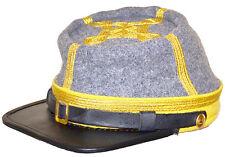 American Civil War Confederate Cavalry Generals Kepi Hat Cap XLarge 60/61cms