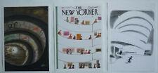 3 CARTES POSTALES DU MUSÉE GUGGENHEIM DE NEW YORK – DESSINS DU NEW YORKER