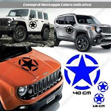 KIT 3 STICKERS STAR MUD BODYWORK GRAPHIC JEEP WRANGLER OFF ROAD BLUE