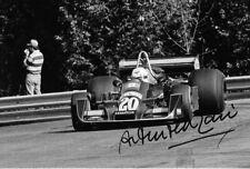 Arturo Merzario firmato, WOLF-Williams FW05, Canadian Gp Mosport Park 1976