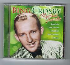 BING CROSBY - CHRISTMAS FAVORITES - CD 18 TITRES - 2011 - NEUF NEW NEU