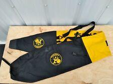 Poseidon Ski Gear Bag Carrier Skis Yellow Black