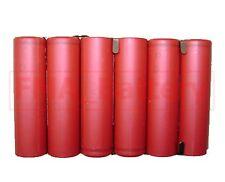 Sanyo 18650 3S2P Li-ion Battery 11.1V 5200mAh DIY Notebook Laptop Cell U/R
