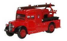 OXFORD DIECAST 76BHF002, BEDFORD WLG HEAVY UNIT, LONDON FIRE BRIGADE