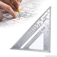 "7"" Speed Tri-Square Protractor Miter Framing Measurement Ruler Carpenter"