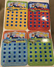 New Toysmith Road Trip Car Auto BINGO, Lot Of 4 Different Cards