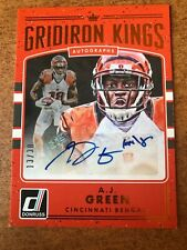 2016  Donruss  A.J. GREEN  Gridiron Kings AUTO 13/30 Ssp
