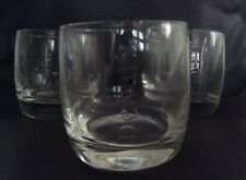 DEWARS SCOTCH WHISKY - 3 'ON THE ROCKS' COLLECTORS GLASSES