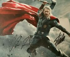 Chris Hemsworth Thor Stan Lee Mr Marvel Dual Authentic Signed Autographed Photo