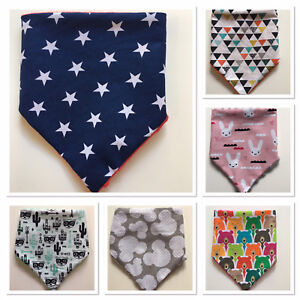 SUPER SOFT Baby Dribble Bibs Bandana Baby Infant Drool Dribble LUXURY