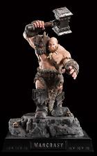 Weta World of Warcraft Orgrim Doomhammer Tenth Scale Statue Figure 1:10 New
