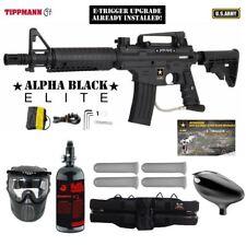 Tippmann US Army Alpha Elite Tactical E-Grip HPA Paintball Gun Package