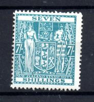 New Zealand 1931 7/- Arms mint MNH Revenue F174 WS21136