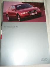 Audi A4 range brochure Nov 1994