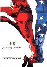 JFK - Tatort Dallas Presseheft 56 Seiten press book Kevin Costner, Kevin Bacon