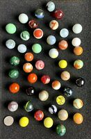 Handmade Shooters Marbles Lot Variety