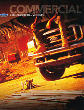 2000 Ford Commercial Truck 34-page Car Sales Brochure - Excursion F-350 Van F250