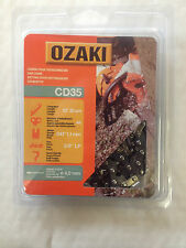 """Ozaki 12"""" Tronçonneuse Chaîne Boucle FITS STIHL + plus 3/8"""" .043 1.1 mm Gauge"""