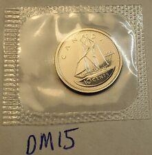 2004 P CANADA TEN Cent Dime UNC 10 Cent Coin PL in Mint Wrap CA