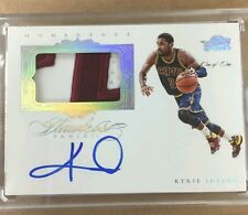 KYRIE IRVING 2015-2016 FLAWLESS LETTER PATCH AUTO #1/1 CAVS