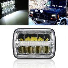 7''x6'' LED Headlights Crystal Clear Sealed Beam HID Bulbs Headlamp W/DRL XDR9