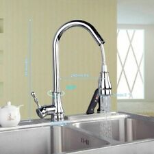 Pull-out Swivel Faucet For Kitchen Bathroom Sink Waterfall Mixer Tap Faucets Set