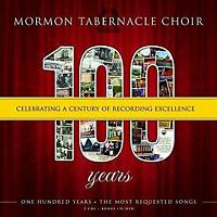 MORMON TABERNACLE CHOIR (2 CD) 100 YEARS ~ GOSPEL~CHORAL~CLASSICAL *NEW*