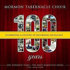 MORMON TABERNACLE CHOIR (2 CD) 100 YEARS ~ GOSPEL~CHORAL~CLASSICAL *NEW*
