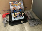 WWF Brawl 4 All mini Figures Ring WWE Lethal Ladder Match Incomplete Set