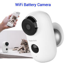 HD 720P WiFi Battery IP Camera Security Two-way Audio IR Night Vision For Home