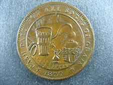 LC-16A1 Molson token Un sou 1837 Lower Bas Canada Montreal Breton 562