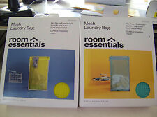 2 Room Essentials Mesh Laundry Bag 36 H x 24Wdrawstring close laundry or beach