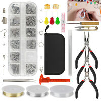 Jewelry Making Tool Kit Pliers Sets DIY Craft Making Repair Handmade Accessories