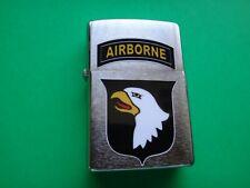 Year 2013 Zippo Lighter US Army 101st AIRBORNE DIVISION Emblem Sticker *Unused*