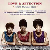 "LOVE & AFFECTION  ""MORE MOTOWN GIRLS, LOST 1960's TREASURES MOST PREV. UNISSUED"""
