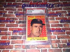 Ted Williams 1958 Topps All Star Graded EX 5 Boston Red Sox Splendid Splinter