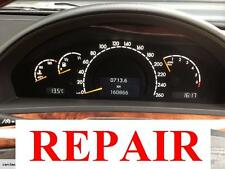 Mercedes S-class W220 InstrumentCluster Repair, backlight LED conversion