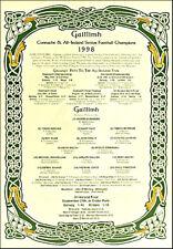 Galway All-Ireland Senior Football Champions 1998: GAA Print