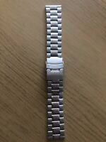 SEIKO SOLID STAINLESS STEEL STRAP STRAIGHT LUG 20mm BARGAIN!